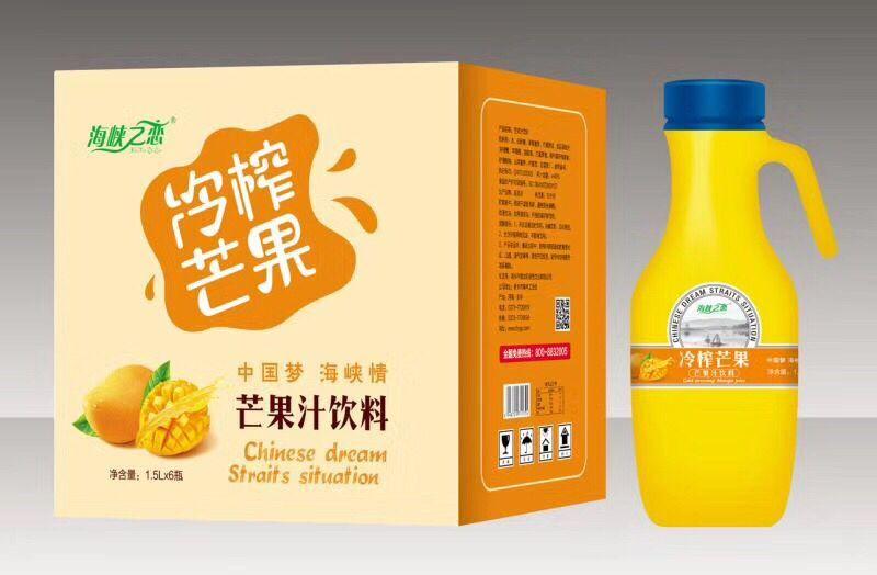 芒果汁1.5Lx6瓶