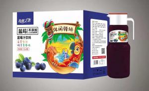 蓝莓汁1.5Lx6瓶