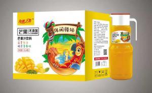 芒果汁1.5 X6瓶
